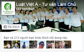 Hình footer facebook Luật Việt Á