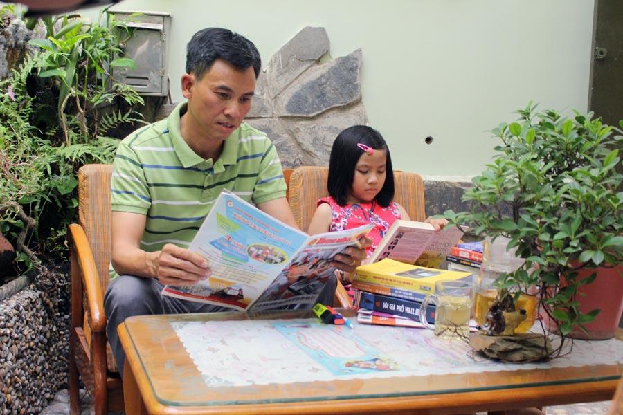 Doanh nhân Luật gia Nguyễn Ngọc Tuấn: Hạnh phúc đến từ việc đọc sách